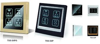smart light switch dimmer smart touch electrical switches switch socket touch screen light