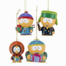 south park ornaments kenny kyle cartman stan