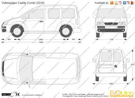 volkswagen caddy 2005 the blueprints com vector drawing volkswagen caddy life