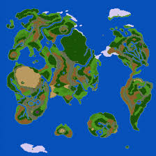Actual World Map by Lttp Dragon Quest 3 Page 2 Neogaf