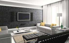 recommendations for design your own living room wallpaper at home