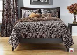Zen Bedding Sets Zebra Zen Size Bedding Set