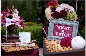 baseball wedding table decorations baseball themed wedding