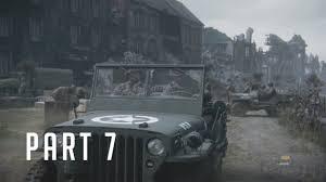 ww2 german jeep call of duty wwii gameplay u0026 walkthrough german soil part