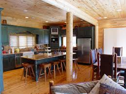 kitchen cabinets in log homes katahdin cedar log homes