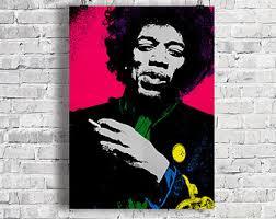 Jimi Hendrix Halloween Costume Jimi Hendrix Zentangle A4 Art Print