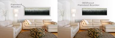 wall borders for living room using wall paint to enhance wall art franklin arts