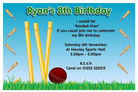 template classic personalized sports birthday invitations with