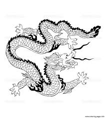 dragon chinois coloring pages printable