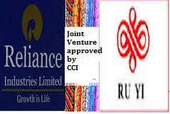 business cci ril gets approval from cci for joint venture in textile business