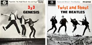 twist and genesis paid tribute to the beatles on the album cover of 3x3