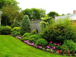 Backyard Landscaping Ideas by Triyae Com U003d Low Maintenance Backyard Design Ideas Various