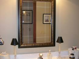 Framed Bathroom Mirror Bathroom Mirror For Bathroom 16 Illuminated Bathroom Cabinets
