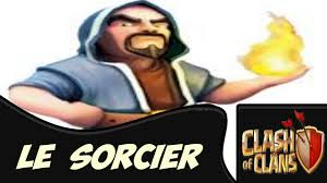 sorcier clash of clan pixel art minecraft youtube