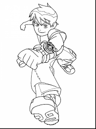good ben four arms coloring pages with ben 10 coloring pages