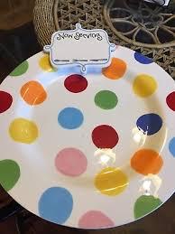 coton colors happy everything platter coton colors happy everything white color dot big platter nib 16