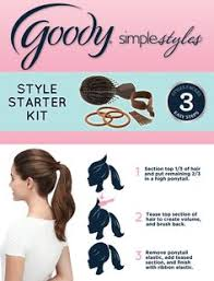 goody s hair hair without the commitment get a faux bob in 3 easy steps