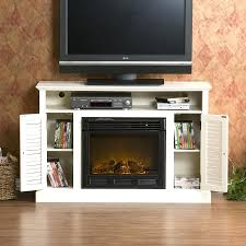 electric fireplace tv stand costco lowes ace inserts free standing