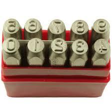 steel number punch set 41 best letter punch images on pinterest