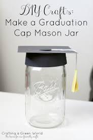 graduation cap centerpieces diy crafts make a graduation cap jar crafting a green world