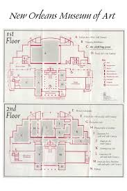 Floor Plan Of Museum New Orleans Catering The New Orleans Museum Of Art