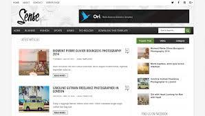 download sense responsive magazine blogger template way
