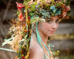 floral headdress floral headdress etsy
