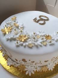 golden wedding anniversary cake 50 years of marriage celebration