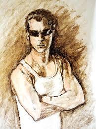 actor salman khan painting by usha shantharam