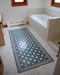 Bathroom Floor Rugs Tile Rug Design Design Pinterest Tile Ideas Foyers And House