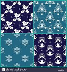 christmas wrapping paper designs 4 christmas gift wrapping paper designs stock photo 74337165 alamy