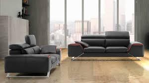 canap cuir noir pas cher salon cuir pas cher home design nouveau et amélioré