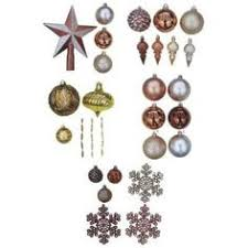 martha stewart living merry metallic assorted ornaments