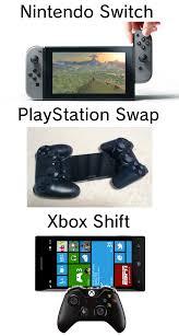 Playstation Meme - looks like nintendo s competitors are desperate nintendo switch