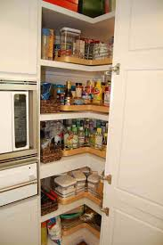 corner kitchen pantry ideas inspiring corner kitchen pantry with sliding doors for concept and