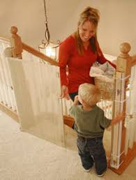 Best Baby Gate For Banisters Smart Retract Retract A Gate Retractable Safety Gate