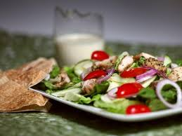 healthy table trim calories in shawarma sauce for super summer salad