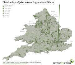Liverpool England Map by What The Geography Of Jobs In England And Wales Tells Us About The