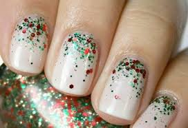 xmas gel nail designs how you can do it at home pictures