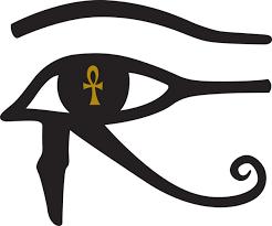 the eye of horus and the ankh eye heard the