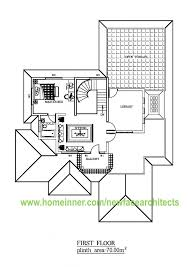 Home Design 3d Library 2500 Sq Ft Kerala Home Floor Plan 3d Design