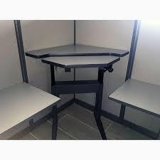 Knoll Reff Reception Desk Knoll Workstation Cubicle With Standing Desk Used Bridgecreek