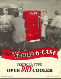 coca cola vendo 6 case cooler