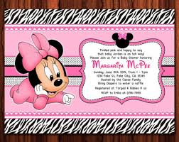 minnie mouse baby shower invitations custom minnie mouse baby shower invitations cool diy minnie mouse ba
