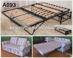 Folding C Bed New Design Modern Convertible Steel Wood Slat Folding Sofa