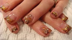 acrylic fall nail designs how you can do it at home pictures