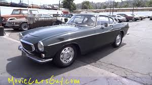 volvo sports cars movie cars vintage classic rare movies car film tv volvo p1800