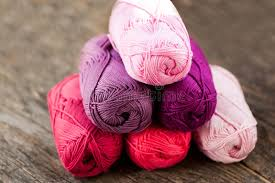 different types of purple different types of yarn stock image image of purple 82770605