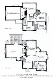 tudor mansion floor plans plate 4 tudor house ground and floor plans with