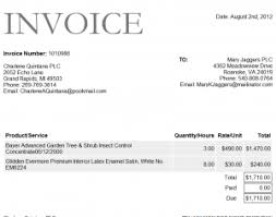 catering invoice template word invoice example